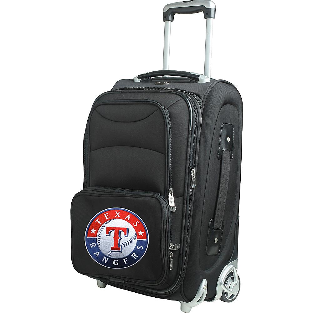 Denco Sports Luggage MLB 21 Wheeled Upright Texas Rangers - Denco Sports Luggage Softside Carry-On - Luggage, Softside Carry-On