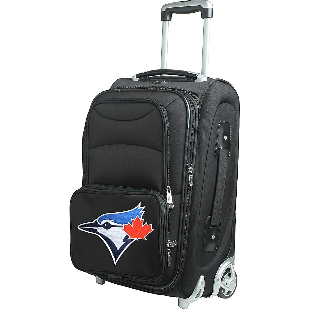 Denco Sports Luggage MLB 21 Wheeled Upright Toronto Blue Jays - Denco Sports Luggage Softside Carry-On - Luggage, Softside Carry-On