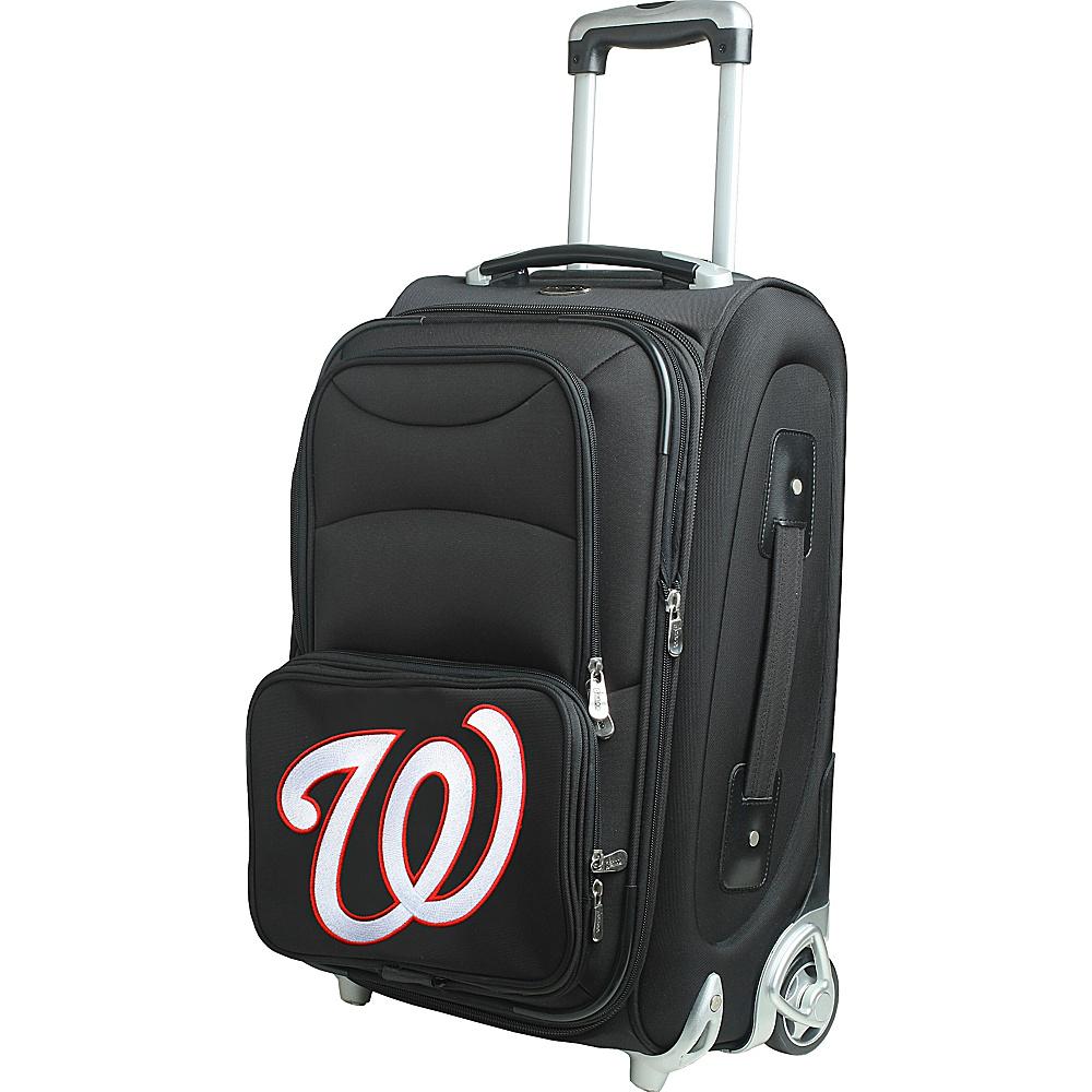 Denco Sports Luggage MLB 21 Wheeled Upright Washington Nationals - Denco Sports Luggage Softside Carry-On - Luggage, Softside Carry-On