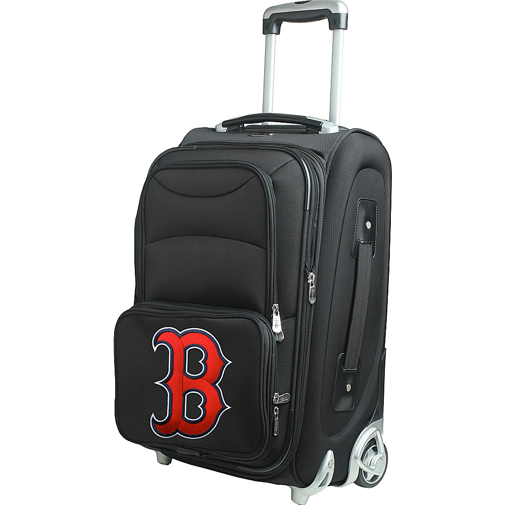 Denco Sports Luggage MLB 21 Wheeled Upright Boston Red Sox - Denco Sports Luggage Softside Carry-On - Luggage, Softside Carry-On