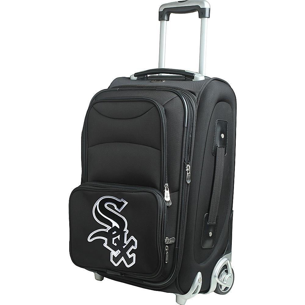 Denco Sports Luggage MLB 21 Wheeled Upright Chicago White Sox - Denco Sports Luggage Softside Carry-On - Luggage, Softside Carry-On