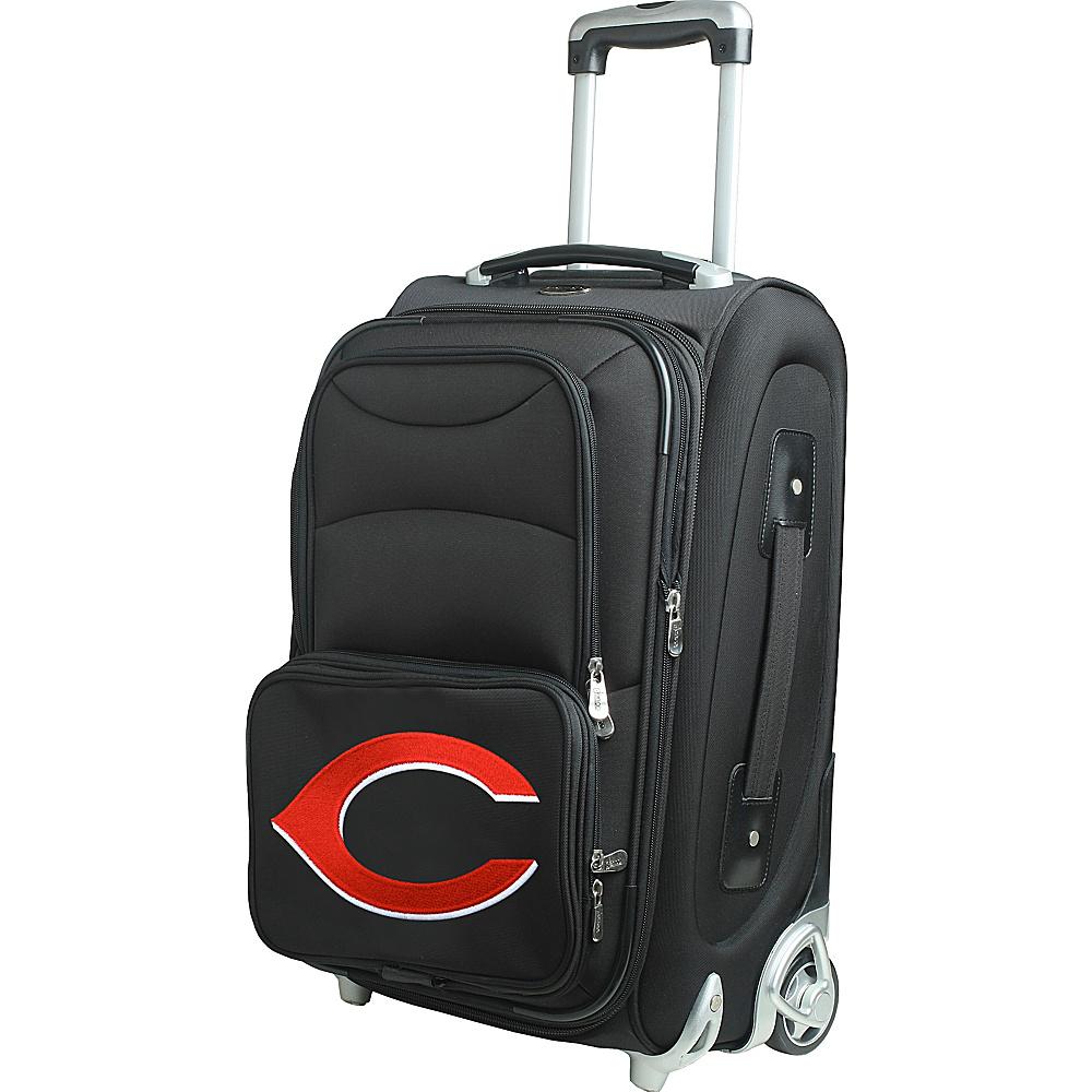 Denco Sports Luggage MLB 21 Wheeled Upright Cincinnati Reds - Denco Sports Luggage Softside Carry-On - Luggage, Softside Carry-On