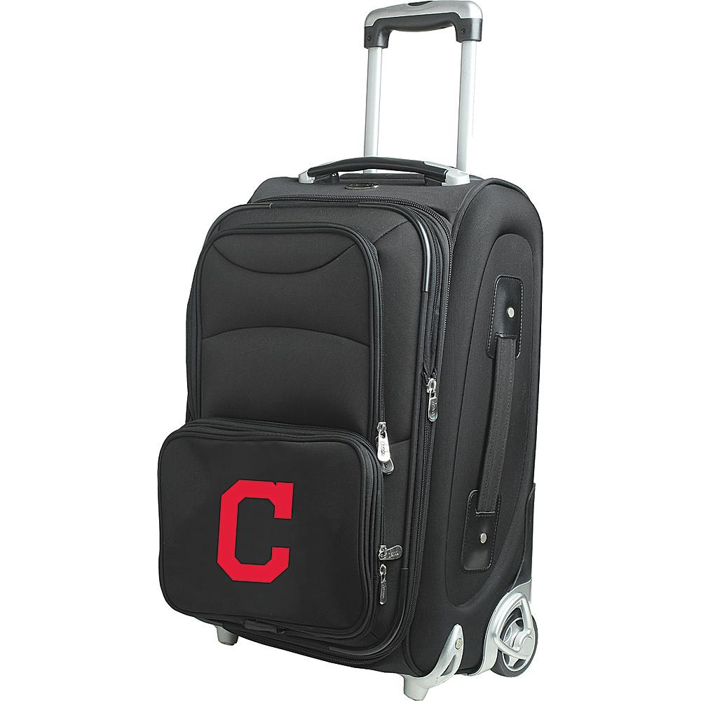 Denco Sports Luggage MLB 21 Wheeled Upright Cleveland Indians - Denco Sports Luggage Softside Carry-On - Luggage, Softside Carry-On