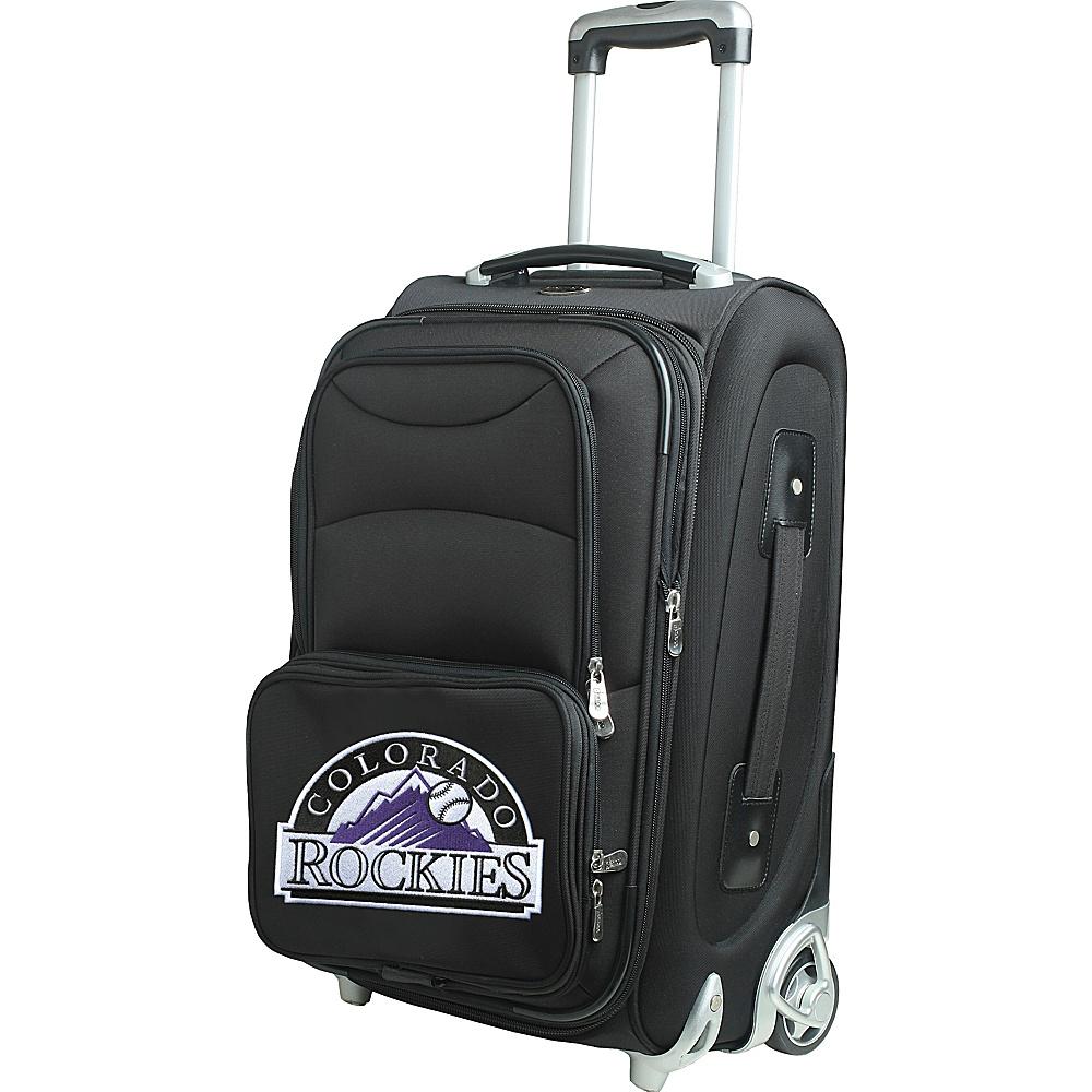 Denco Sports Luggage MLB 21 Wheeled Upright Colorado Rockies - Denco Sports Luggage Softside Carry-On - Luggage, Softside Carry-On