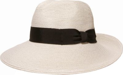 Gottex Alhambra Hat One Size - White/Black - Gottex Hats/Gloves/Scarves
