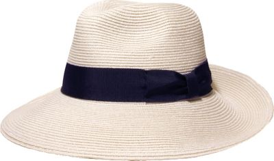 Gottex Alhambra Hat One Size - White/Navy - Gottex Hats/Gloves/Scarves