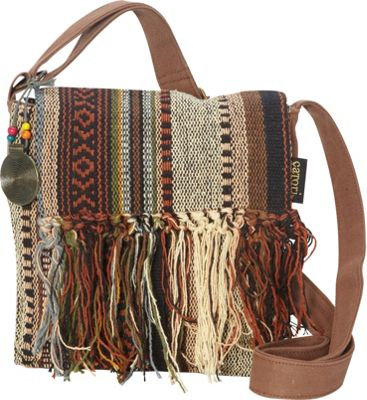 Sun 'N' Sand Sandsation Crossbody Brown - Sun 'N' Sand Leather Handbags