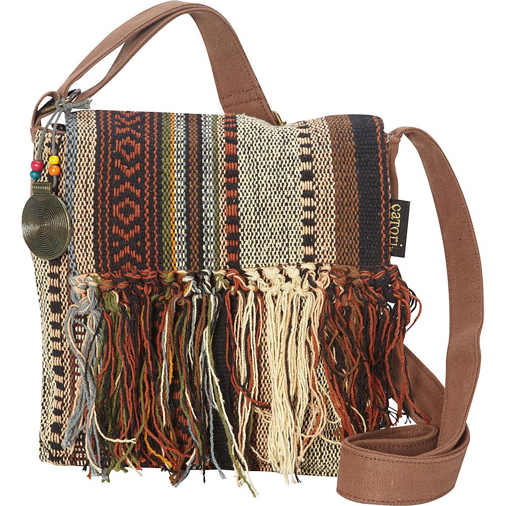 Sun N Sand Sandsation Crossbody Brown - Sun N Sand Leather Handbags - Handbags, Leather Handbags