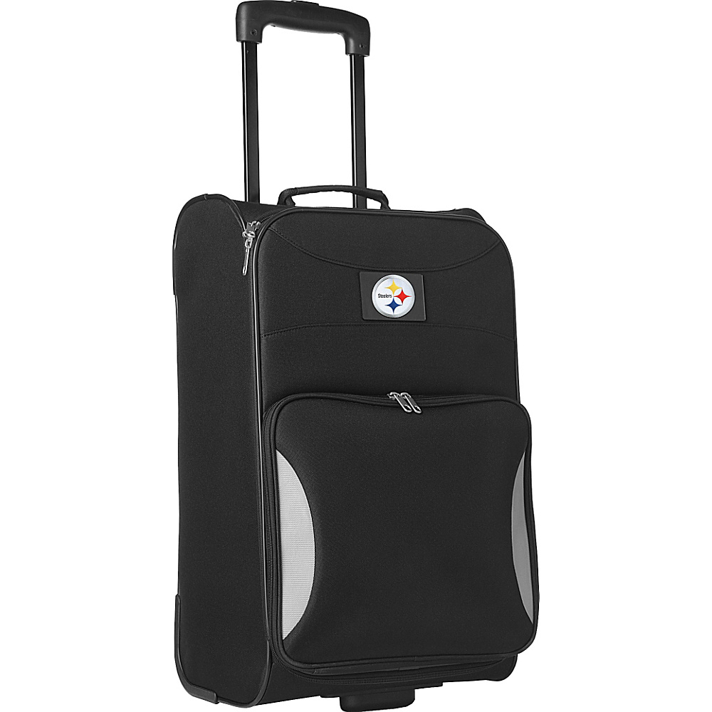 "Denco Sports Luggage NFL 21"" Steadfast Upright Carry-on Pittsburgh Steelers - Denco Sports Luggage Softside Carry-On"