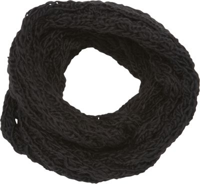 Magid Chunky Knit Infinity Scarf Black - Magid Hats/Gloves/Scarves