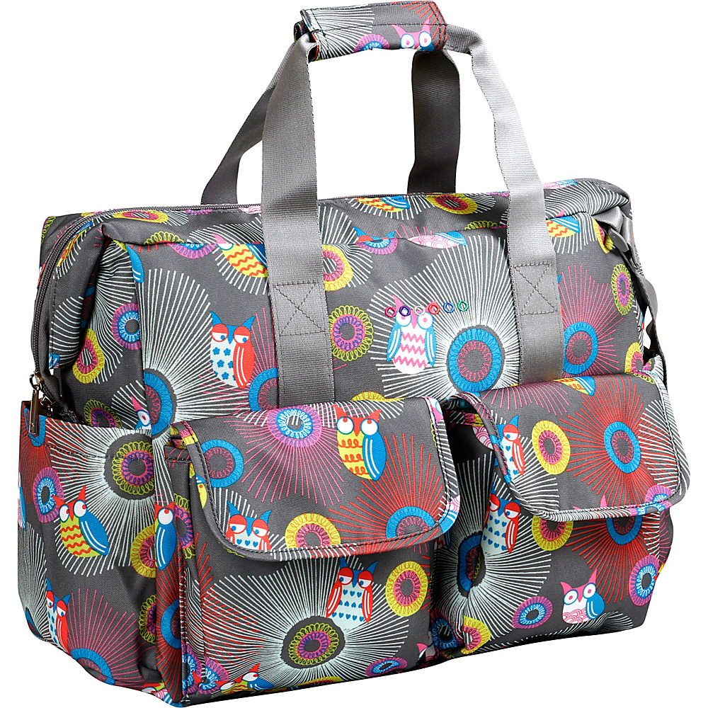 J World New York Amber Weekend Travel Bag BLAZING OWL - J World New York Diaper Bags & Accessories - Handbags, Diaper Bags & Accessories