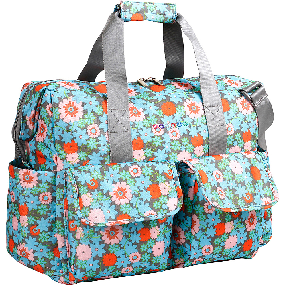 J World New York Amber Weekend Travel Bag BLOSSOM - J World New York Diaper Bags & Accessories - Handbags, Diaper Bags & Accessories