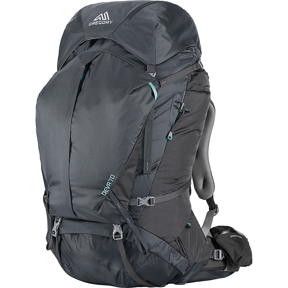 Gregory Deva 70 Small Pack Charcoal Gray Gregory Day Hiking Backpacks