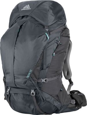 Gregory Deva 70 Small Pack Charcoal Gray - Gregory Day Hiking Backpacks