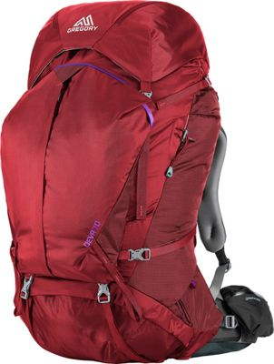 Gregory Deva 70 Pack Ruby Red - X-Small - Gregory Day Hiking Backpacks