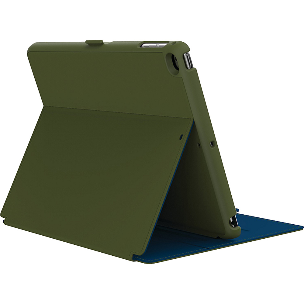 Speck- Do not use iPad Air & iPad Air 2 Stylefolio Case Moss Green/Deep Sea Blue - Speck- Do not use Electronic Cases