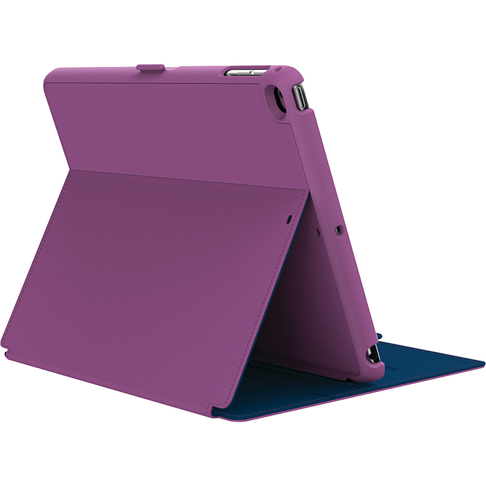 Speck- Do not use iPad Air & iPad Air 2 Stylefolio Case Beaming Orchid Purple/Deep Sea Blue - Speck- Do not use Electronic Cases