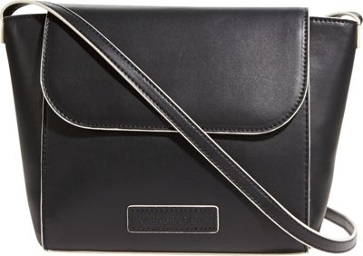 Vera Bradley Flap Crossbody - Solids Black - Vera Bradley Fabric Handbags