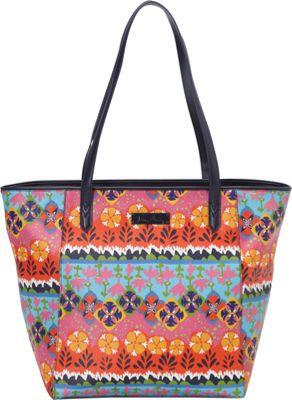 Vera Bradley Breakaway Tote Rio Stripe - Vera Bradley Fabric Handbags