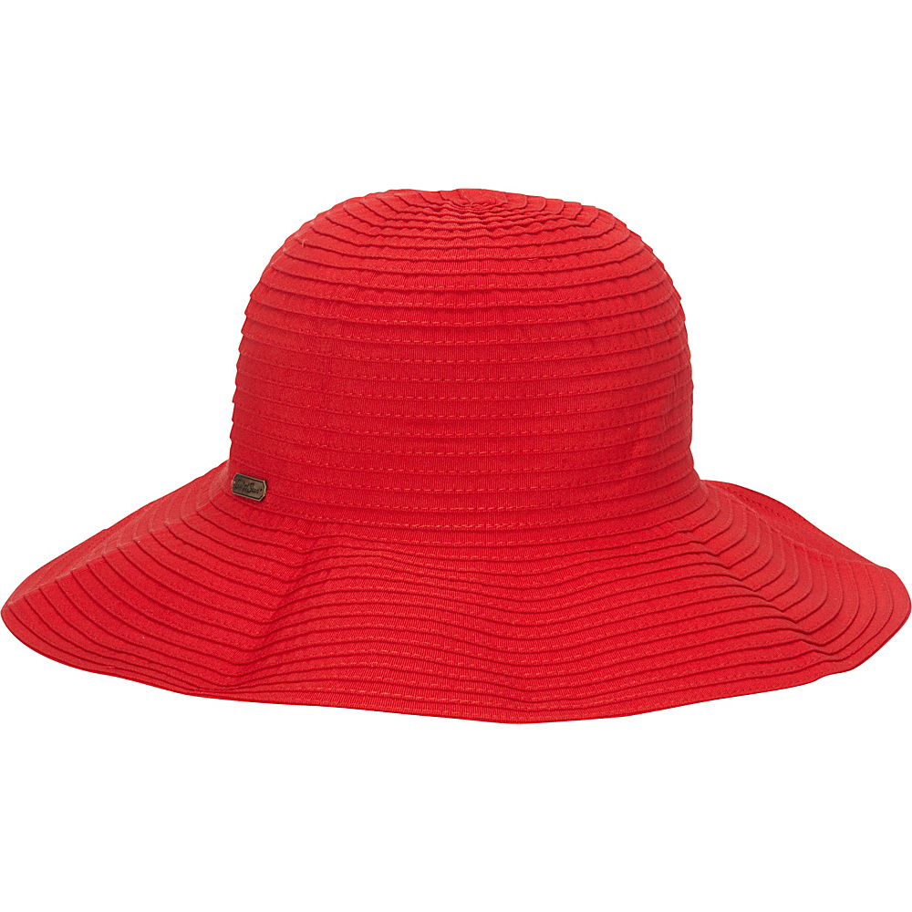 Sun N Sand Classic Snap & Go Hat One Size - Red - Sun N Sand Hats/Gloves/Scarves - Fashion Accessories, Hats/Gloves/Scarves