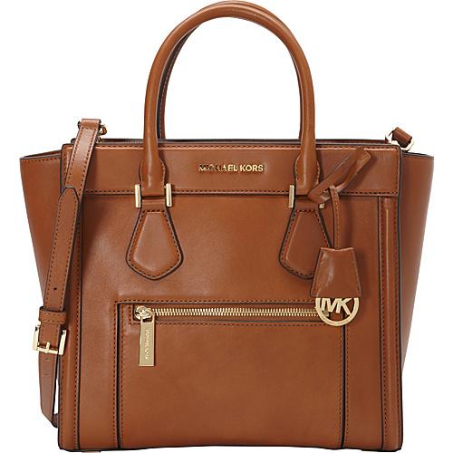 MICHAEL Michael Kors Colette Zip Large Satchel Luggage - MICHAEL Michael Kors Designer Handbags