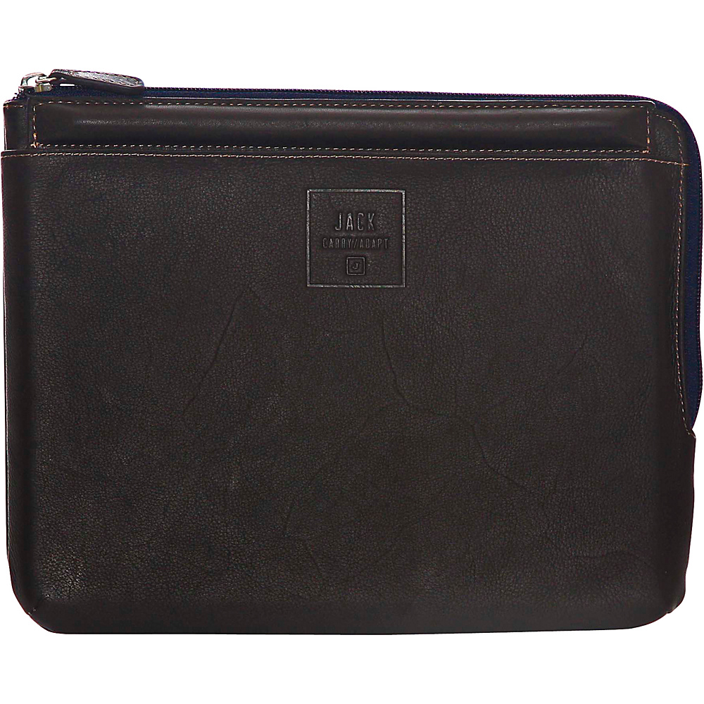 Jill e Designs Jack Dominick 10 Leather Tablet Sleeve with Stand Brown Jill e Designs Electronic Cases