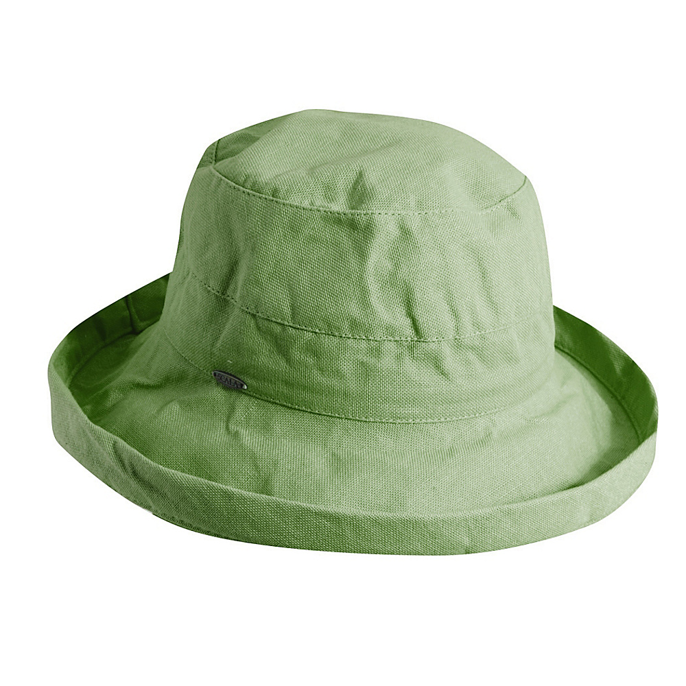 Scala Hats Medium Brim Cotton Hat Olive Scala Hats Hats Gloves Scarves