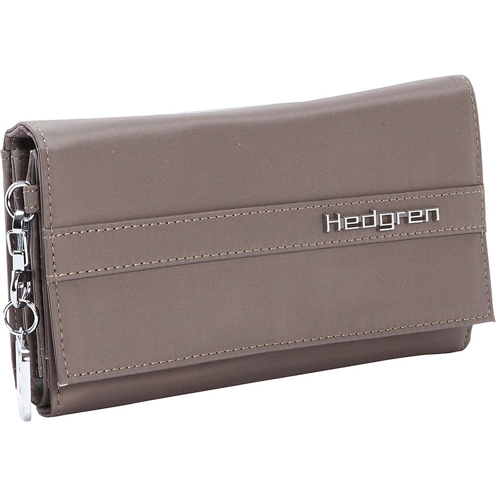 Hedgren Wallet Sepia Brown Hedgren Women s Wallets