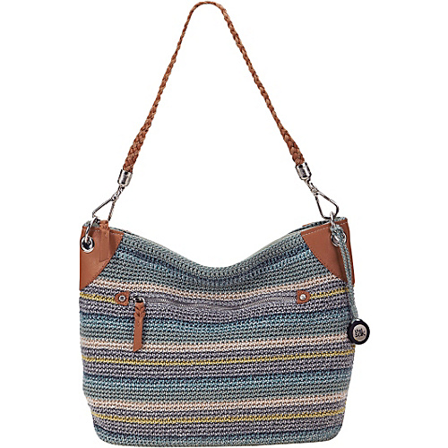 The Sak Portola Hobo Canyon Stripe - The Sak Fabric Handbags