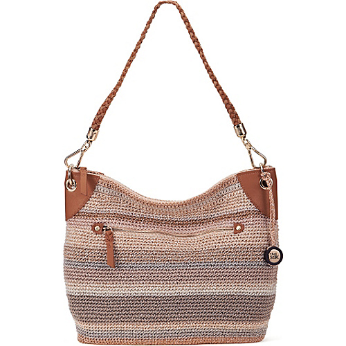 The Sak Portola Hobo Sand Stripe - The Sak Fabric Handbags