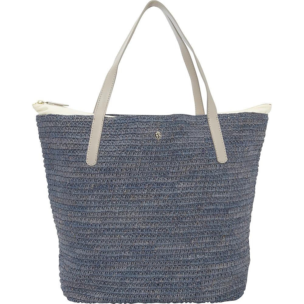 Helen Kaminski Davolia Medium Tote Denim/Moon - Helen Kaminski Designer Handbags