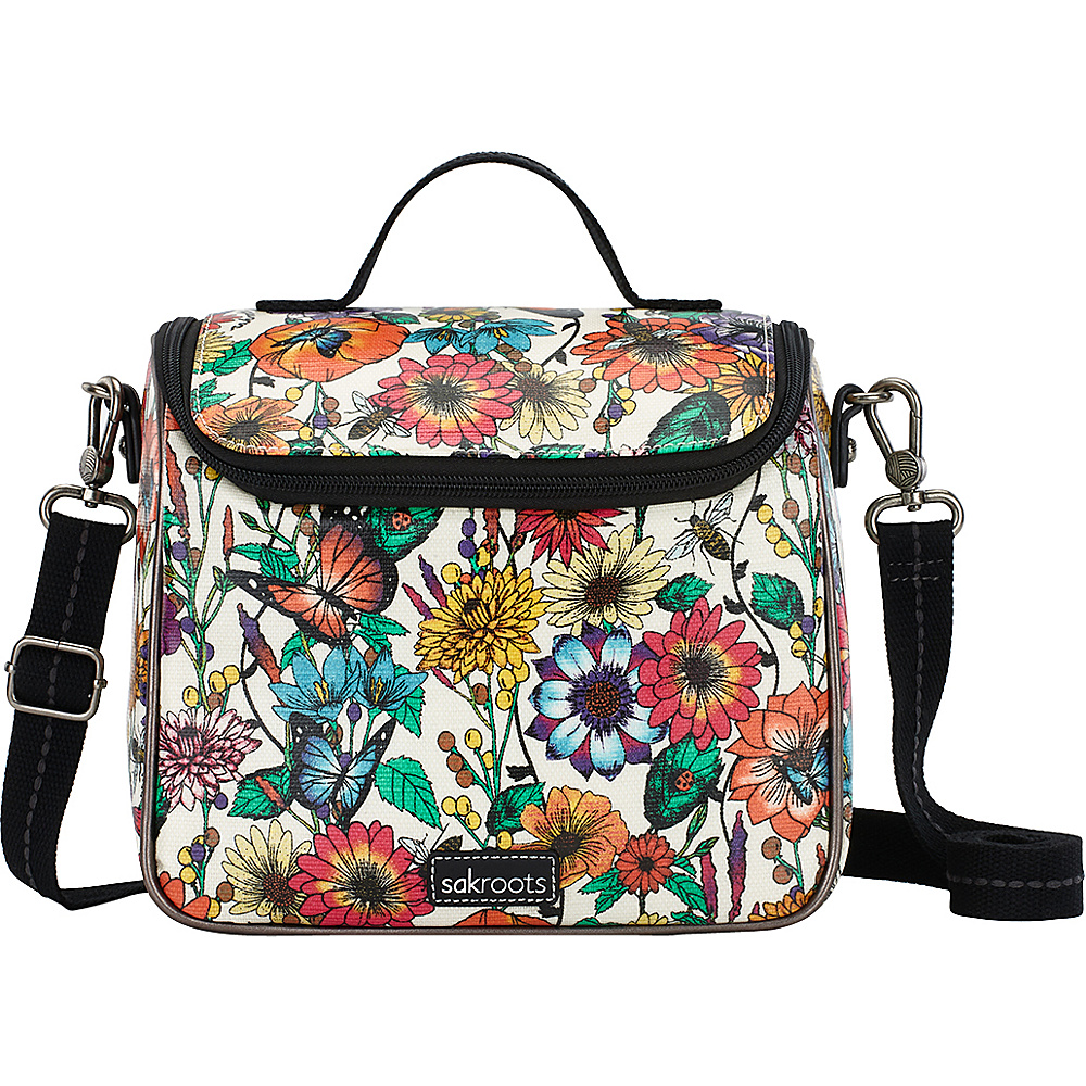 Sakroots Artist Circle Crossbody Cooler Optic In Bloom - Sakroots Travel Coolers - Travel Accessories, Travel Coolers
