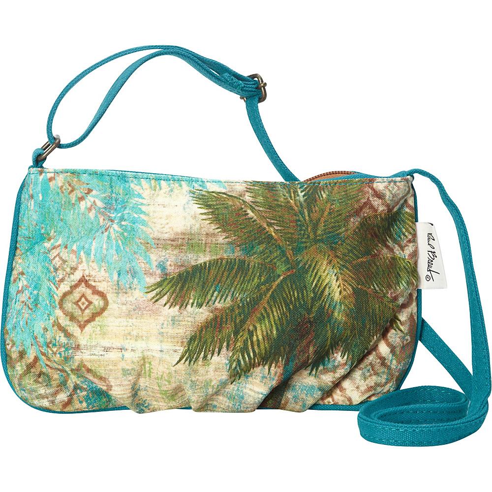 Sun N Sand Aqua Escape Crossbody Green - Sun N Sand Fabric Handbags - Handbags, Fabric Handbags