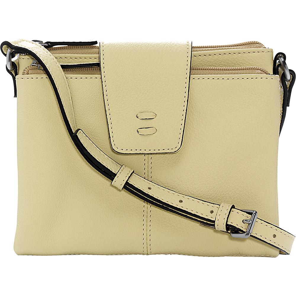 Ellington Handbags Alex Crossbody Wallet Citron - Ellington Handbags Leather Handbags
