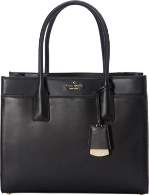 kate spade new york Lucca Drive Candace Satchel Black - kate spade new york Designer Handbags