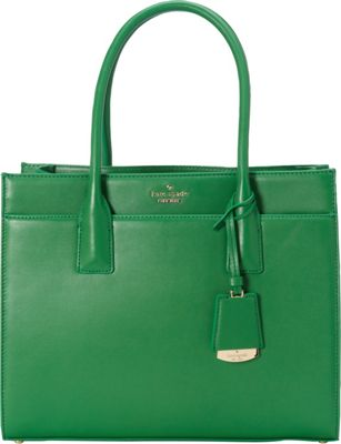 kate spade new york Lucca Drive Candace Satchel Sprout Green - kate spade new york Designer Handbags