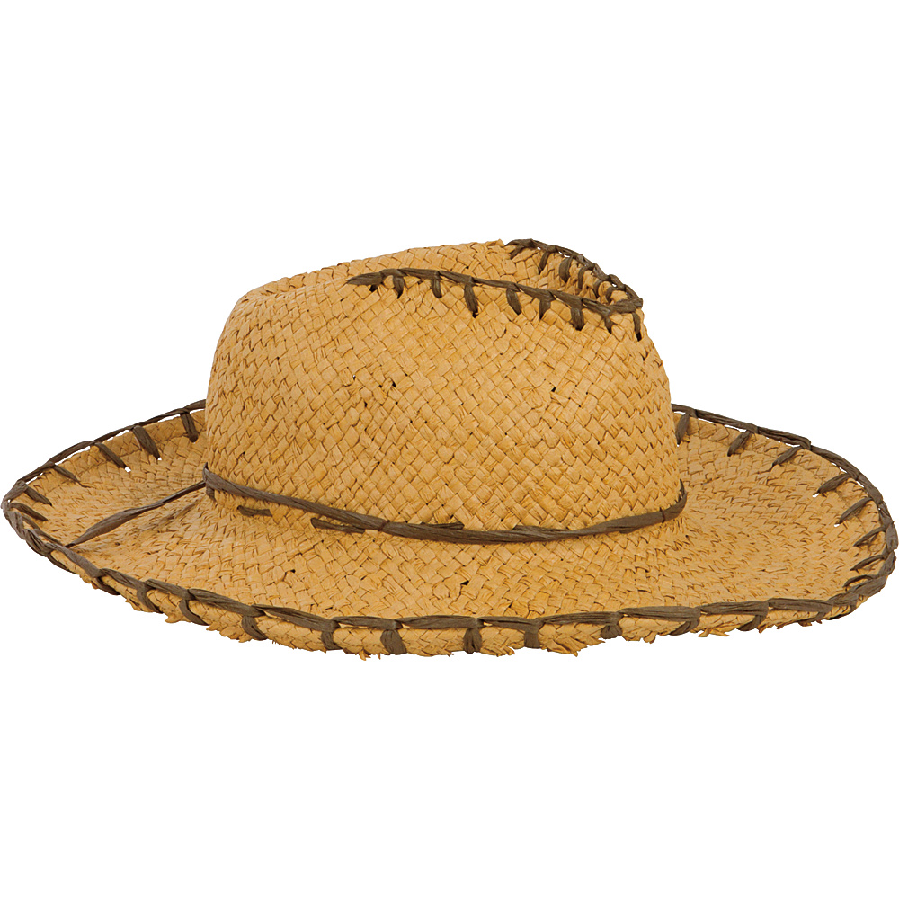 San Diego Hat Kids Woven Paper Cowboy Hat Natural San Diego Hat Hats Gloves Scarves