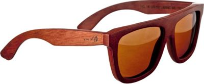 Earth Wood Imperial Sunglasses Red Rosewood - Earth Wood Sunglasses