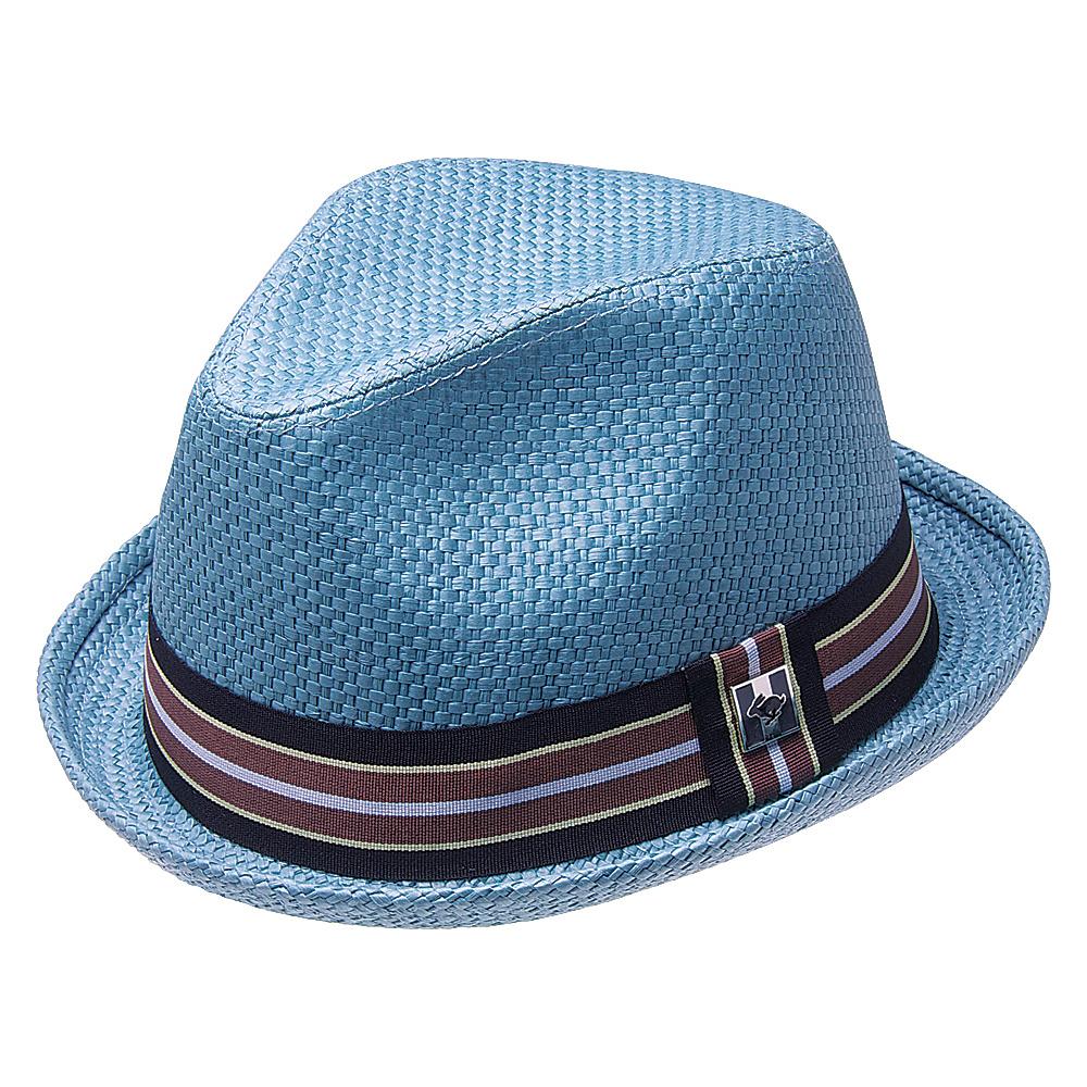 Peter Grimm Depp Fedora Blue Xlarge Peter Grimm Hats Gloves Scarves