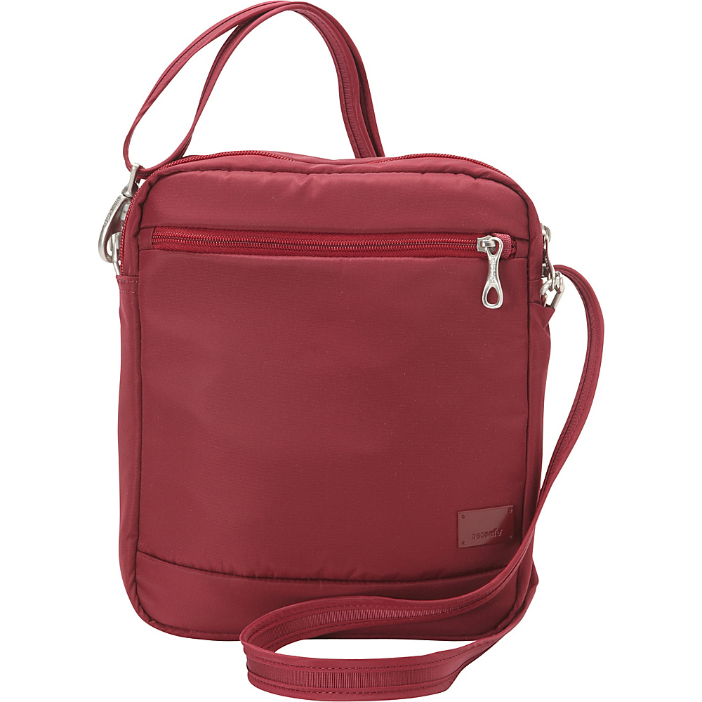 Pacsafe Citysafe CS150 Cranberry Pacsafe Fabric Handbags