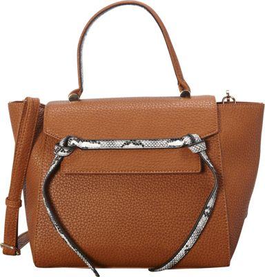 SW Global Deana Satchel Brown - SW Global Manmade Handbags