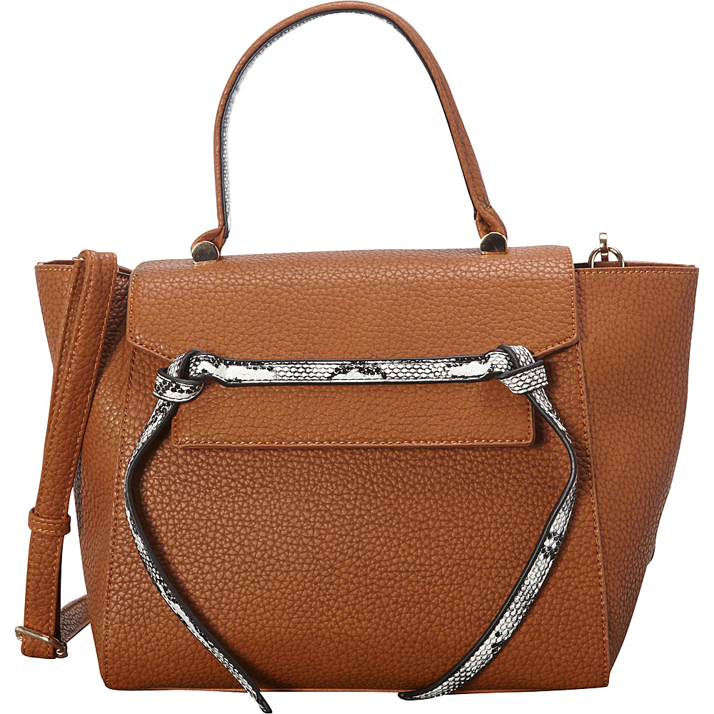 SW Global Deana Satchel Brown - SW Global Manmade Handbags - Handbags, Manmade Handbags