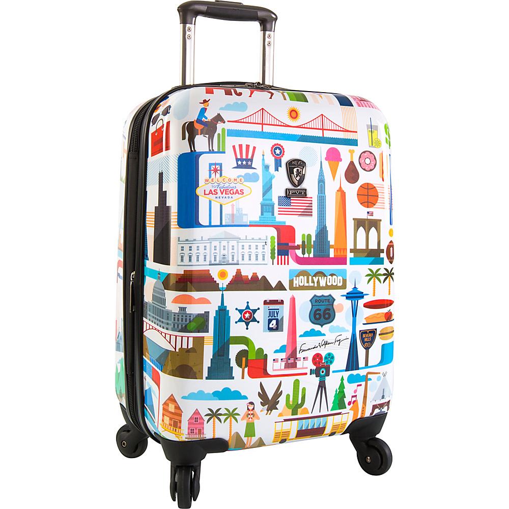 "Heys America USA 21"" Carry-On Spinner Luggage USA - Heys America Hardside Carry-On"