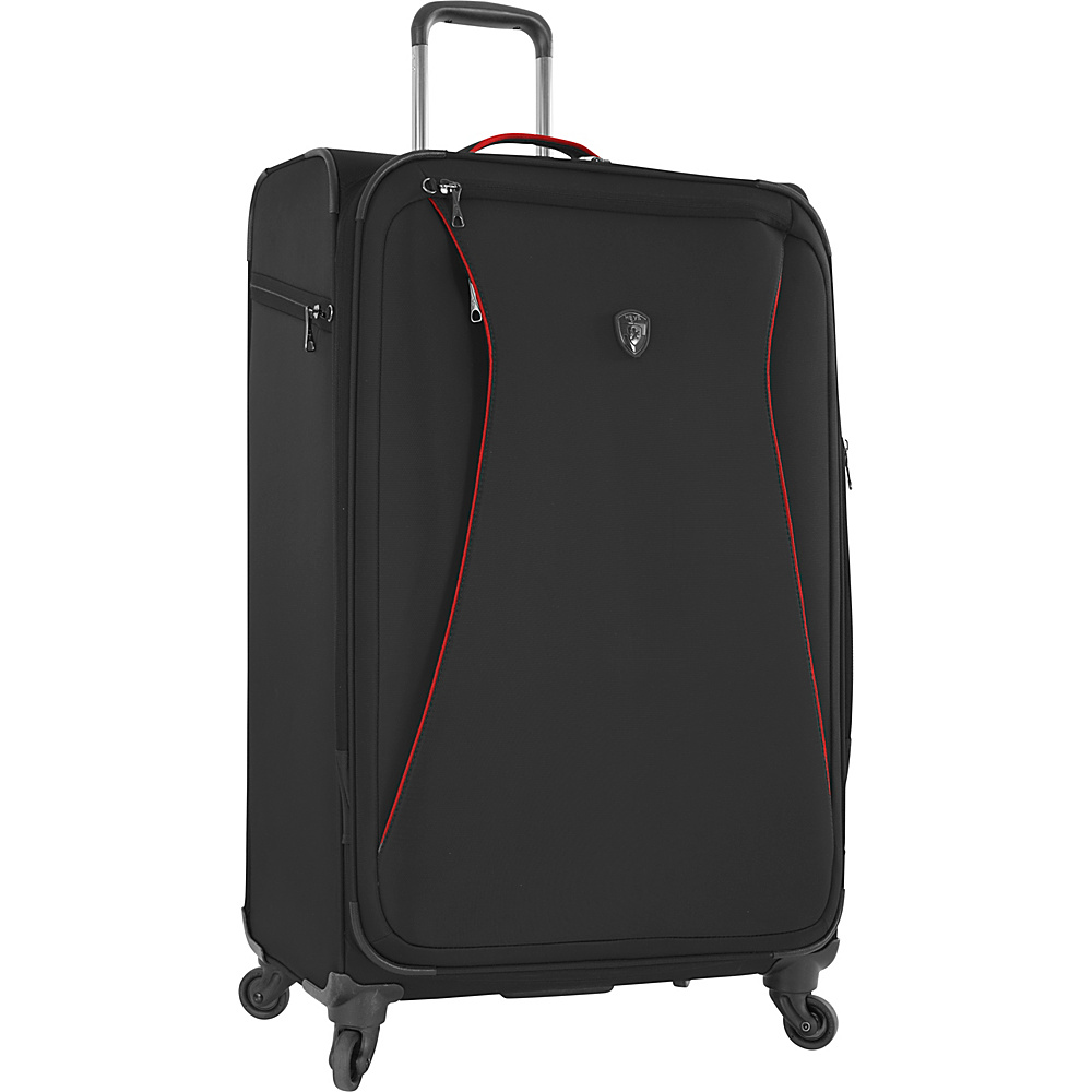 Heys America Helix 30 Spinner Luggage Black Heys America Softside Checked