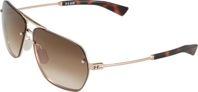 Under Armour Eyewear Hi-Roll Sunglasses Shiny Gold-Tortoise/Brown Gradient - Under Armour Eyewear Sunglasses