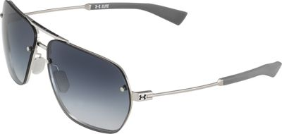 Under Armour Eyewear Hi-Roll Sunglasses Shiny Silver-Carbon/Blue Gradient - Under Armour Eyewear Sunglasses