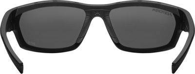 Under Armour Eyewear Hook'd Storm Sunglasses Satin Black/Gray Storm ANSI Polarized Blue Mirror - Under Armour Eyewear Sunglasses