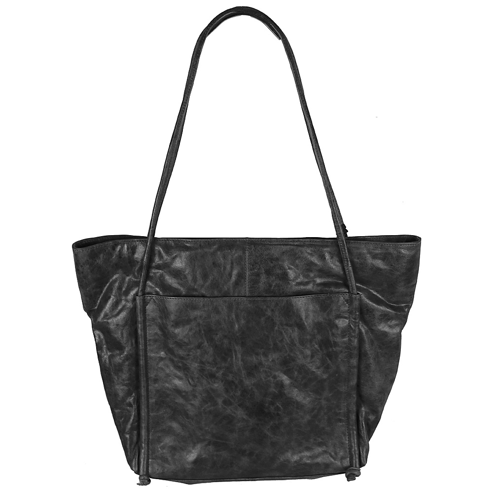 Latico Leathers Rumi Tote Crunch Grey - Latico Leathers Leather Handbags - Handbags, Leather Handbags