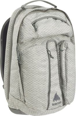 Burton Curbshark Pack Gray Heather Diamond Ripstop - Burton Business & Laptop Backpacks