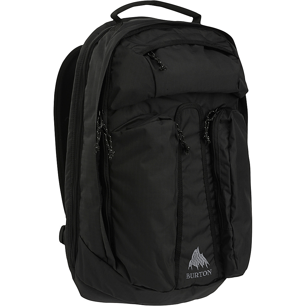 Burton Curbshark Pack True Black Heather Twill Burton Business Laptop Backpacks